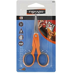 Fiskars Easy Spring Action 8-inch Softouch Scissors