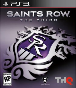 PS3 - Saints Row: The Third - By THQ