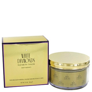 Elizabeth Taylor White Diamonds Women's 5.3-ounce Body Powder