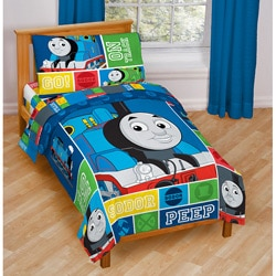 Shop Thomas the Train Toddler 4-piece Bed in a Bag - Free ...