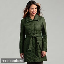 Kenneth Cole Women's Belted Trench Coat FINAL SALE
