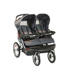 Baby Trend Navigator Baltic Double Jogger Free Shipping