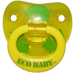 Eco Baby Yellow Pacifier