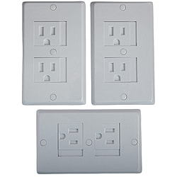 KidCo White Universal Outlet Covers (Pack of 3)