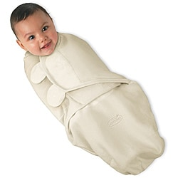 Summer Infant Ivory SwaddleMe Small Organic Cotton Blanket