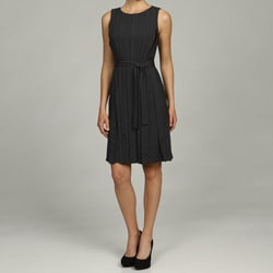 Calvin Klein Women's Belted Waist Dress