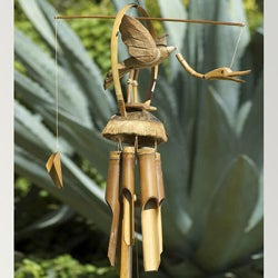 Handmade Bamboo Flying Duck Wind Chime (Indonesia)