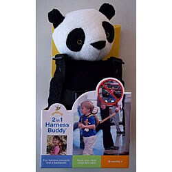 GoldBug 2-in-1 Panda Child Safety Harness