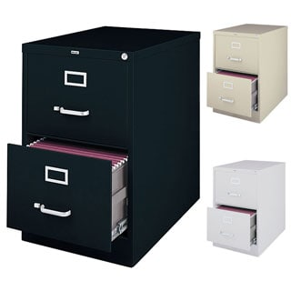 Hirsh 25 Inch Deep 2 Drawer Legal Size Commercial Vertical File Cabinet Free Shipping Today 5853286