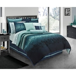 Blue Moon 4 Piece King Size Comforter Set Free Shipping Today Overstock C