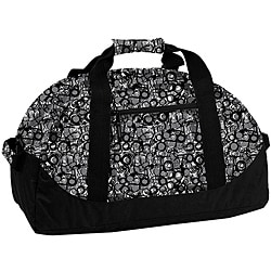 J World 'Lawrence' Marble Grey 30-inch Duffel Bag