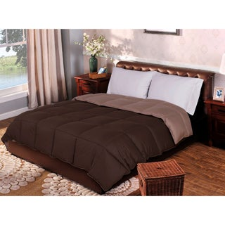 Superior All-season Luxurious Reversible Down Alternative Hypoallergenic Comforter
