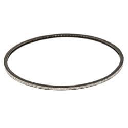 Victoria Kay Black Metal 3/4ct TDW Diamond Bangle Bracelet