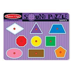 Melissa & Doug Shapes Sound Puzzle