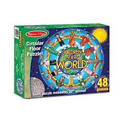 Melissa & Doug Children Around the World 48-piece Floor Puzzle