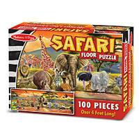 Melissa & Doug Safari Floor Puzzle Floor Puzzle