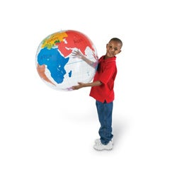 Learning Resources Inflatable Labeling Globe