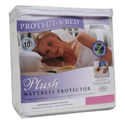 Protect-A-Bed Plush Queen-size Mattress Protector - Thumbnail 0