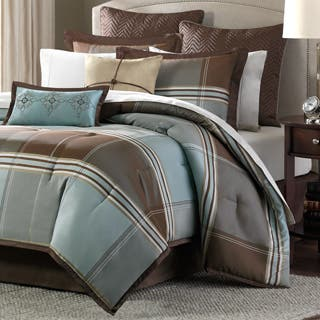 Madison Park Davenport Blue/ Brown 8-piece Comforter Set|https://ak1.ostkcdn.com/images/products/P13652254L.jpg?impolicy=medium