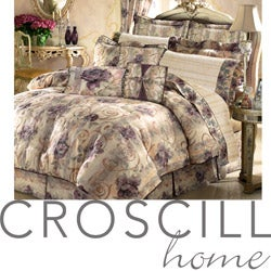 Shop Black Friday Deals on Croscill Chambord Queen-size 4 ...