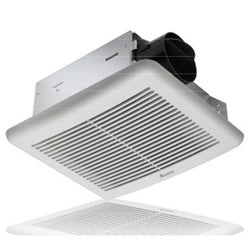 White 50 CFM Exhaust Fan