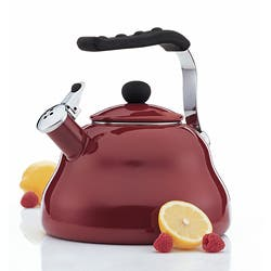 Farberware Athena Garnet 3 Quart Tea Kettle Overstock 5986145