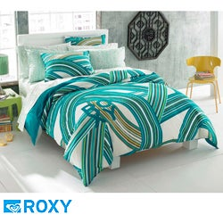 Thumbnail 1, Roxy Cami Queen-size 9-piece Bed in a Bag with Sheet Set.