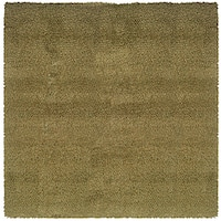 Manhattan Tweed Green/ Gold Shag Rug