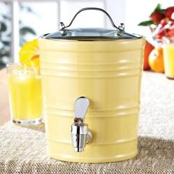 American Atelier Yellow 90-oz Beverage Dispenser