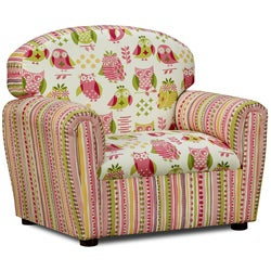 It's a Hoot Cotton Upholstered Chair