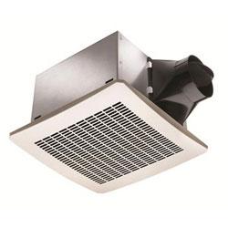 White 80 CFM Exhaust Fan