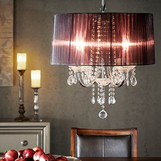 TRIBECCA HOME Noble 4-light Metal Chandelier