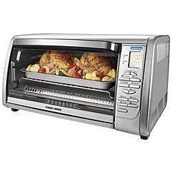 Black & Decker 6-slice Stainless Steel Convection Oven|https://ak1.ostkcdn.com/images/products/P13692697.jpg?impolicy=medium