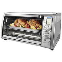 Black & Decker 6-slice Stainless Steel Convection Oven