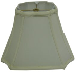 Square Cut-corner Off-white Lamp Shade