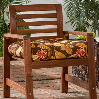 20-inch Outdoor Timberland Floral Chair Cushion