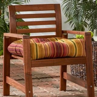20-inch Outdoor Kinnabari Stripe Chair Cushion