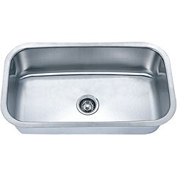 Fine Fixtures Undermount Stainless Steel Single Bowl Sink