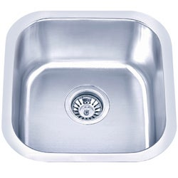 Fine Fixtures Undermount Stainless Steel Single-bowl Sink