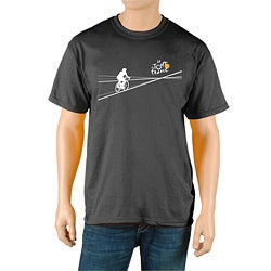 Le Tour de France Men's 'Poster' Black Official T-Shirt (Option: Black)