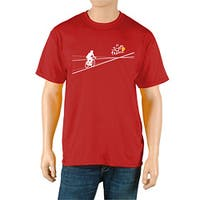 Le Tour de France Men's 'Poster' Red Official T-Shirt