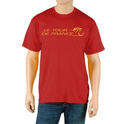 Le Tour de France Men's 'Race' Red Official T-Shirt