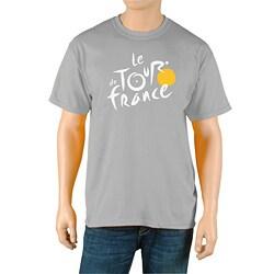 Le Tour de France Men's 'Logo' Grey Official T-Shirt