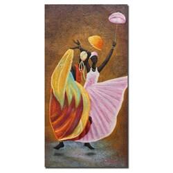 Antonio 'Dance of Praise' Canvas Art