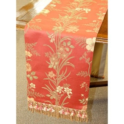 Italian Floral 86-inch Table Runner - Thumbnail 0
