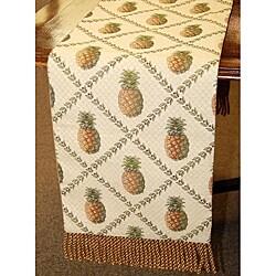 Corona Decor Pineapple Italian 70-inch Table Runner