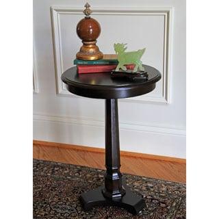 Column Espresso Side Table