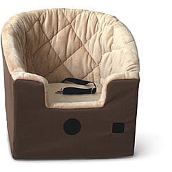 K&H Large Tan Bucket Booster Pet Seat