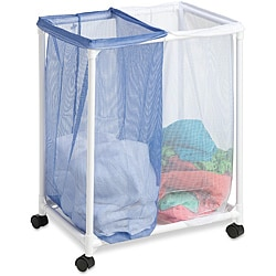 Honey Can Do HMP-01628 Double Mesh Bag Laundry Sorter