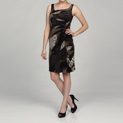 Jessica Simpson Women's Animal Print Inspired Dress